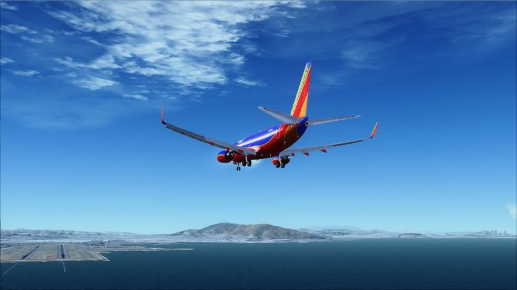 Southwest-> Las Vegas/KLAS - San Francisco/KSFO KLAS-KSFO16