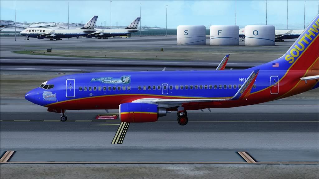 Southwest-> Las Vegas/KLAS - San Francisco/KSFO KLAS-KSFO19
