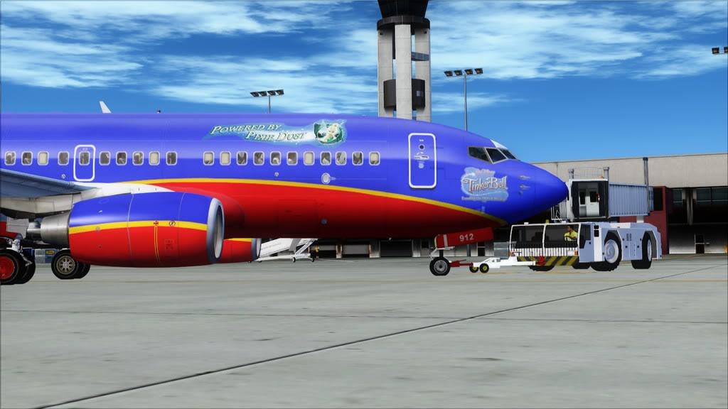 Southwest-> Las Vegas/KLAS - San Francisco/KSFO KLAS-KSFO2