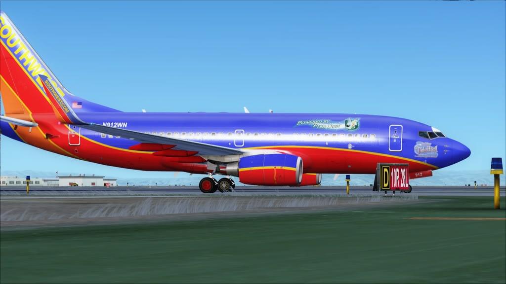 Southwest-> Las Vegas/KLAS - San Francisco/KSFO KLAS-KSFO21