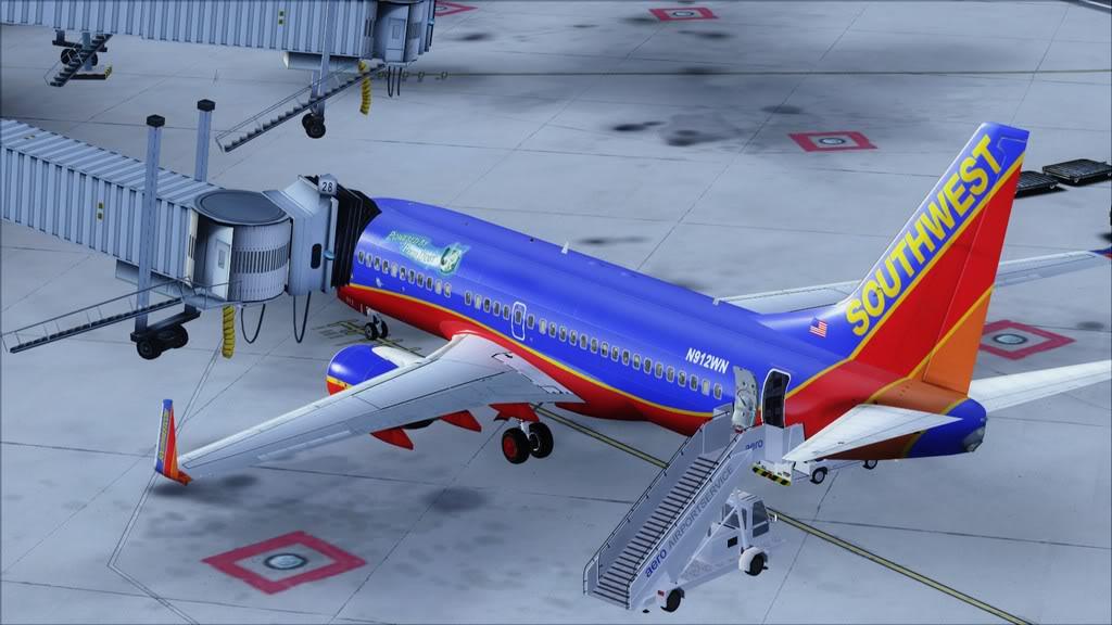 Southwest-> Las Vegas/KLAS - San Francisco/KSFO KLAS-KSFO24
