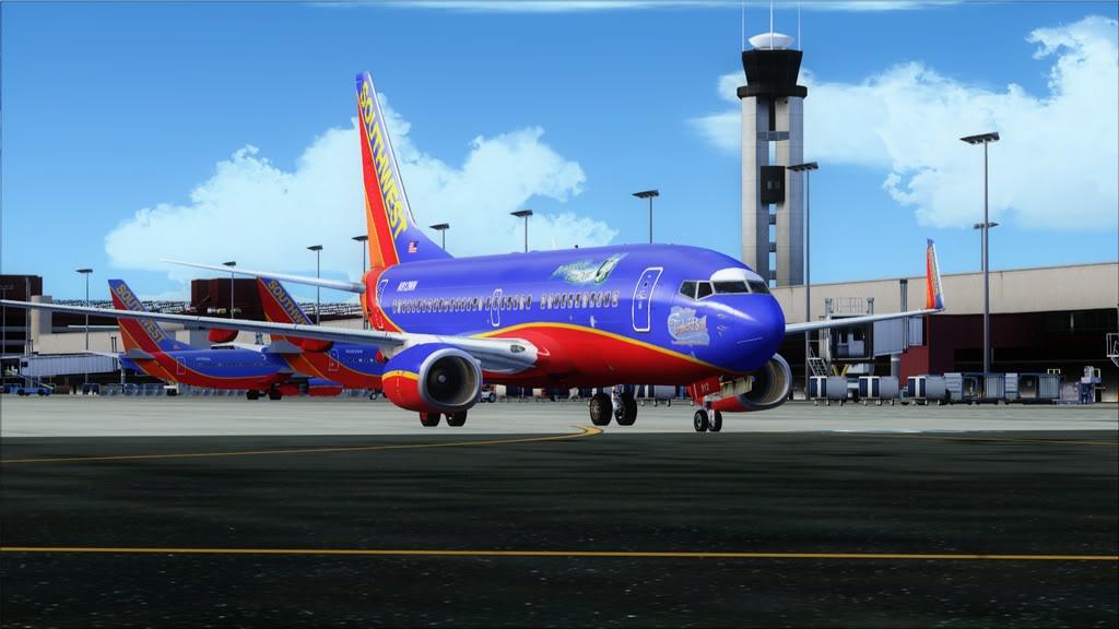 Southwest-> Las Vegas/KLAS - San Francisco/KSFO KLAS-KSFO4