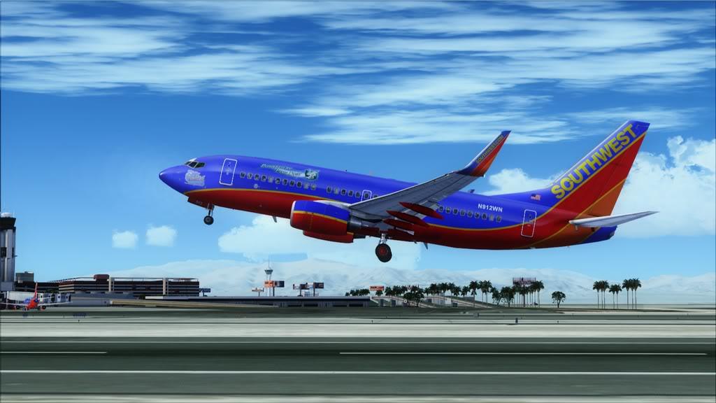 Southwest-> Las Vegas/KLAS - San Francisco/KSFO KLAS-KSFO5