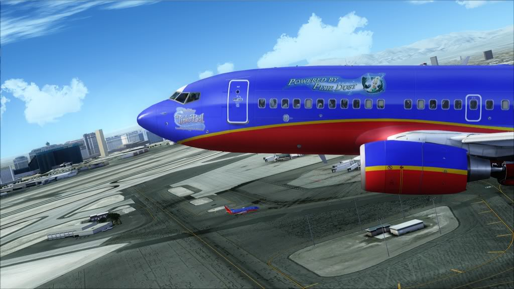 Southwest-> Las Vegas/KLAS - San Francisco/KSFO KLAS-KSFO6