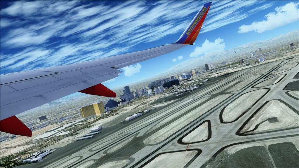 Southwest-> Las Vegas/KLAS - San Francisco/KSFO KLAS-KSFO7