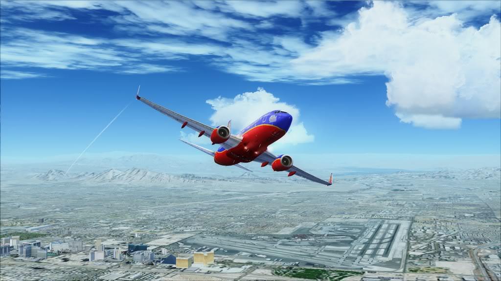 Southwest-> Las Vegas/KLAS - San Francisco/KSFO KLAS-KSFO8