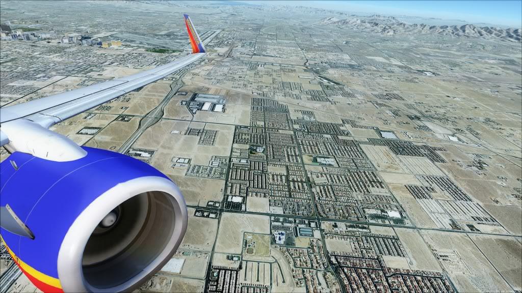 Southwest-> Las Vegas/KLAS - San Francisco/KSFO KLAS-KSFO9