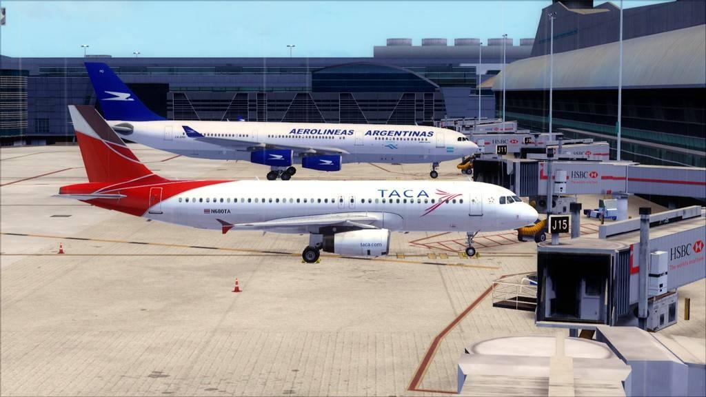 TACA Airlines-> Miami Int'l(KMIA)- Toncontin(MHTG) KMIA-MHTG