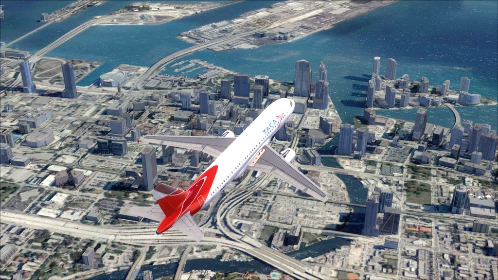 TACA Airlines-> Miami Int'l(KMIA)- Toncontin(MHTG) KMIA-MHTG11
