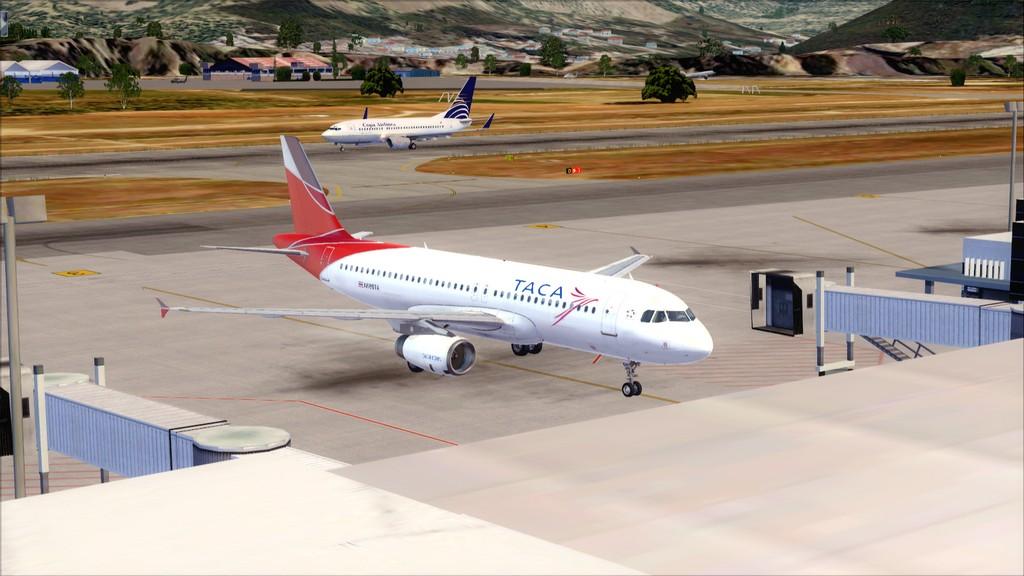 TACA Airlines-> Miami Int'l(KMIA)- Toncontin(MHTG) KMIA-MHTG23
