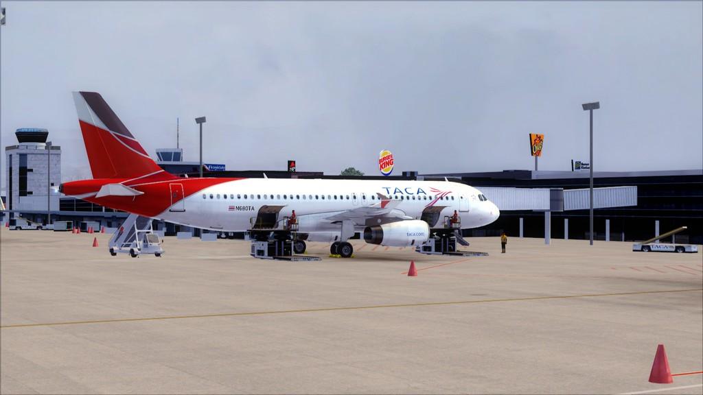 TACA Airlines-> Miami Int'l(KMIA)- Toncontin(MHTG) KMIA-MHTG24