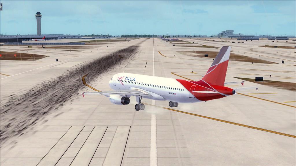 TACA Airlines-> Miami Int'l(KMIA)- Toncontin(MHTG) KMIA-MHTG3