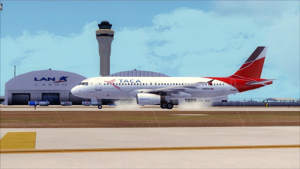 TACA Airlines-> Miami Int'l(KMIA)- Toncontin(MHTG) KMIA-MHTG4