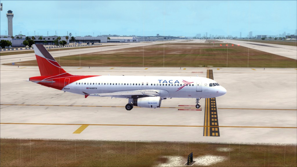 TACA Airlines-> Miami Int'l(KMIA)- Toncontin(MHTG) KMIA-MHTG6