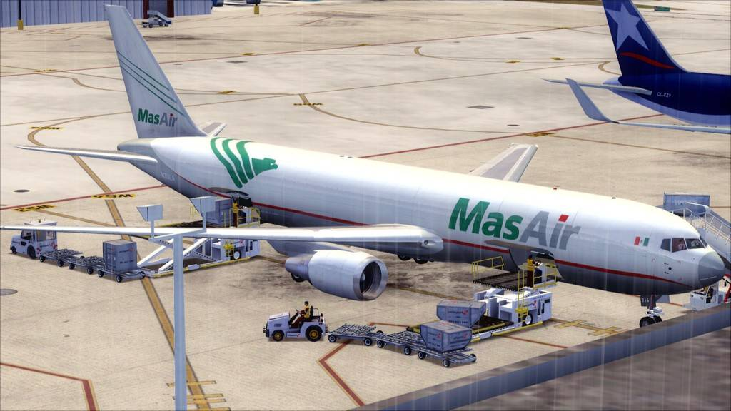 Mas Air B767-F -->KMIA/MMMX KMIA-MMMX