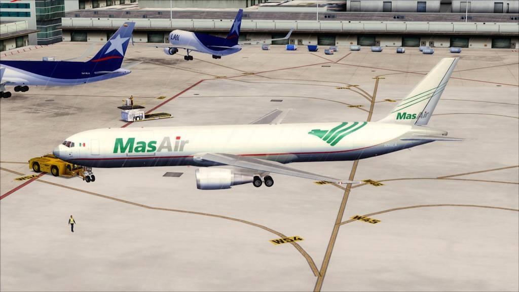 Mas Air B767-F -->KMIA/MMMX KMIA-MMMX1