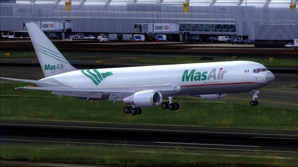 Mas Air B767-F -->KMIA/MMMX KMIA-MMMX20