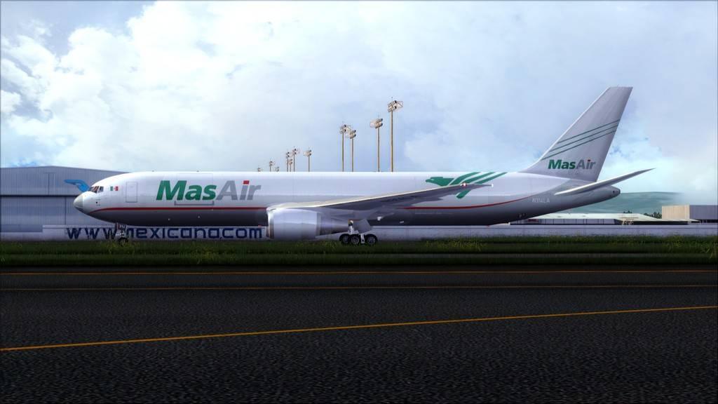 Mas Air B767-F -->KMIA/MMMX KMIA-MMMX22