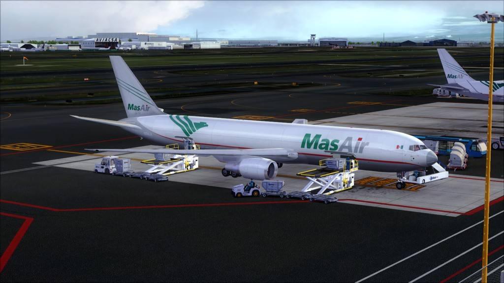 Mas Air B767-F -->KMIA/MMMX KMIA-MMMX23