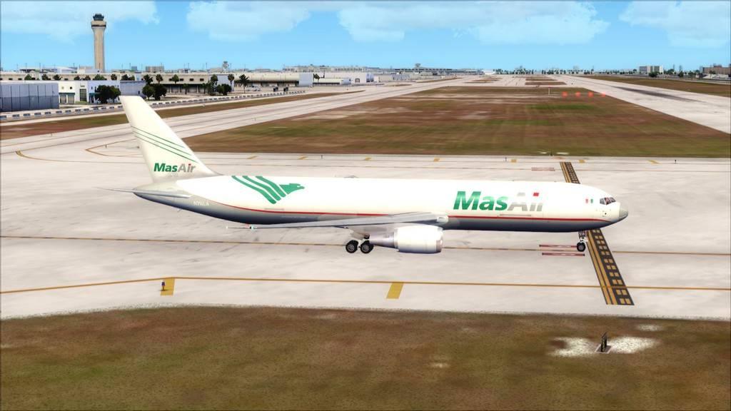 Mas Air B767-F -->KMIA/MMMX KMIA-MMMX4