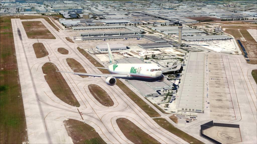 Mas Air B767-F -->KMIA/MMMX KMIA-MMMX6