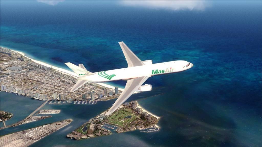 Mas Air B767-F -->KMIA/MMMX KMIA-MMMX7
