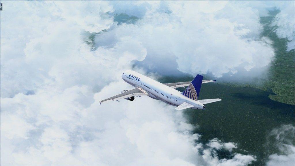 United A320 -> Tampa/KTPA-Washington Dulles/KIAD KTPA-KIAD14