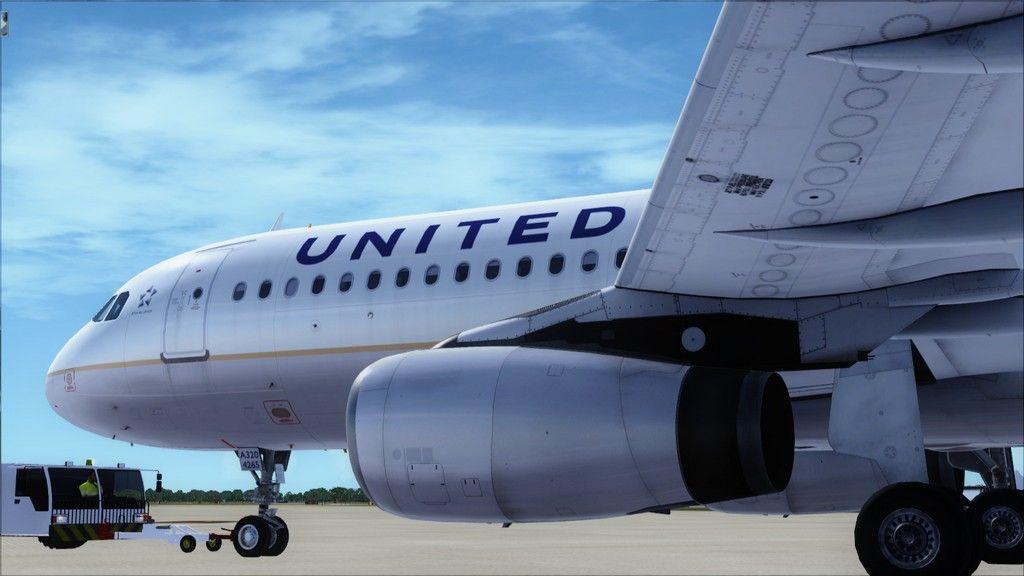 United A320 -> Tampa/KTPA-Washington Dulles/KIAD KTPA-KIAD2