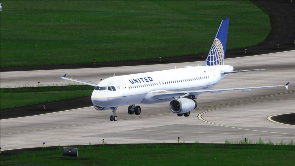 United A320 -> Tampa/KTPA-Washington Dulles/KIAD KTPA-KIAD20