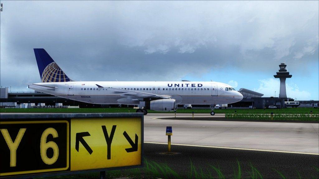 United A320 -> Tampa/KTPA-Washington Dulles/KIAD KTPA-KIAD21