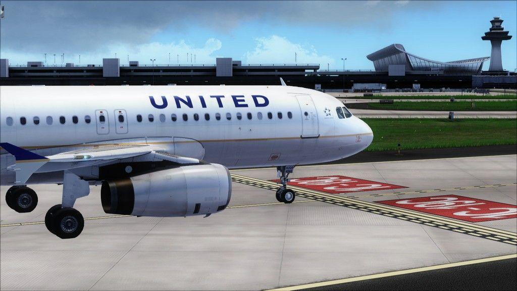 United A320 -> Tampa/KTPA-Washington Dulles/KIAD KTPA-KIAD22