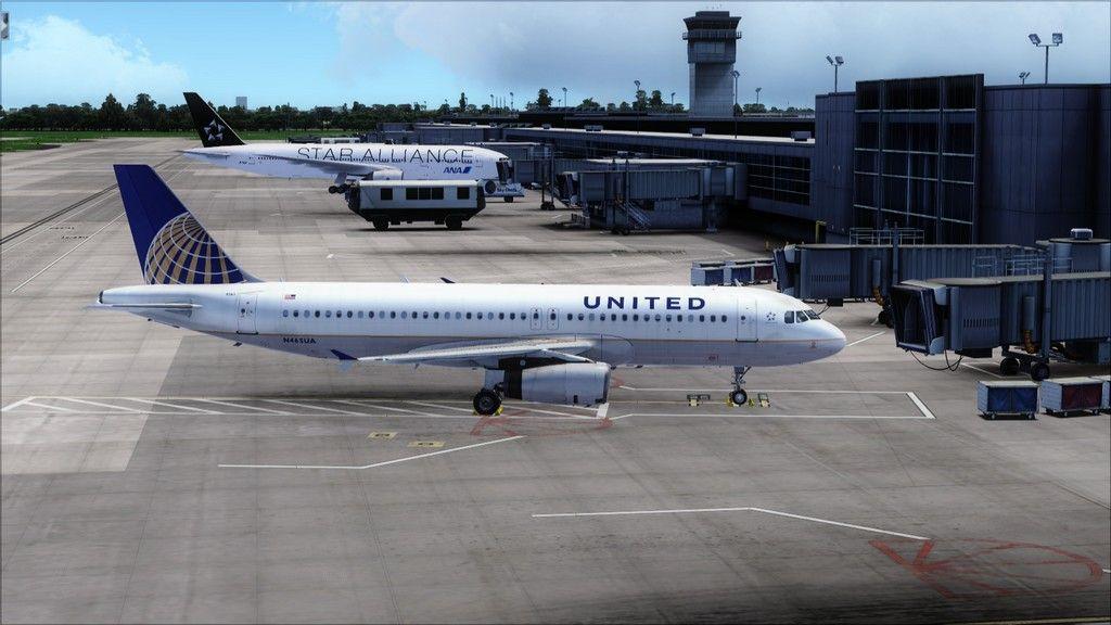 United A320 -> Tampa/KTPA-Washington Dulles/KIAD KTPA-KIAD24
