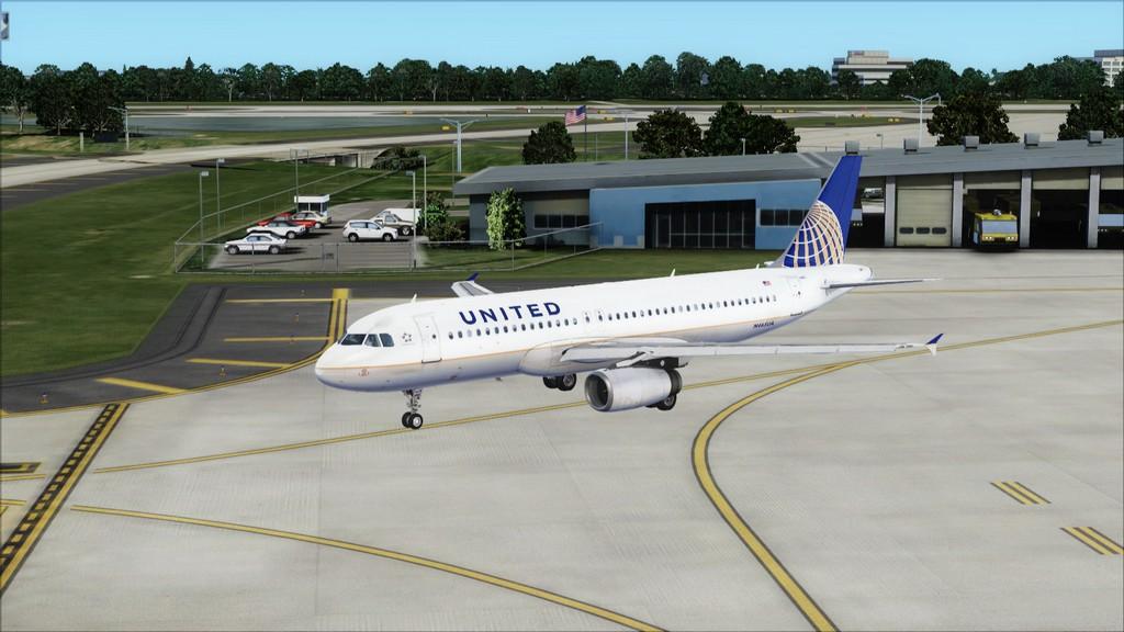 United A320 -> Tampa/KTPA-Washington Dulles/KIAD KTPA-KIAD3