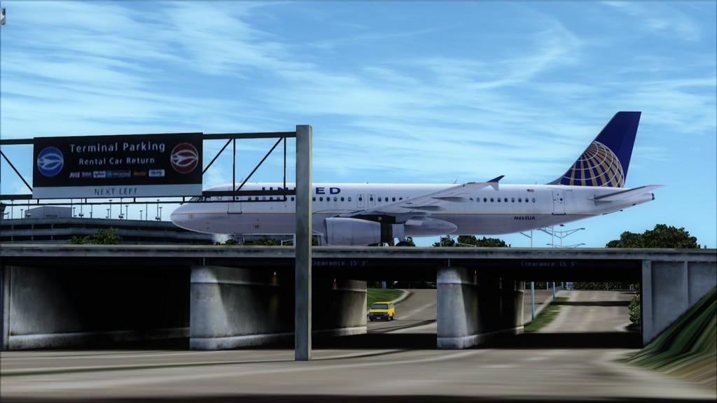 United A320 -> Tampa/KTPA-Washington Dulles/KIAD KTPA-KIAD4