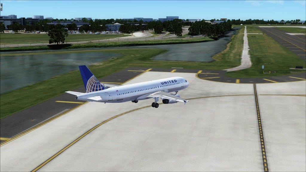 United A320 -> Tampa/KTPA-Washington Dulles/KIAD KTPA-KIAD5