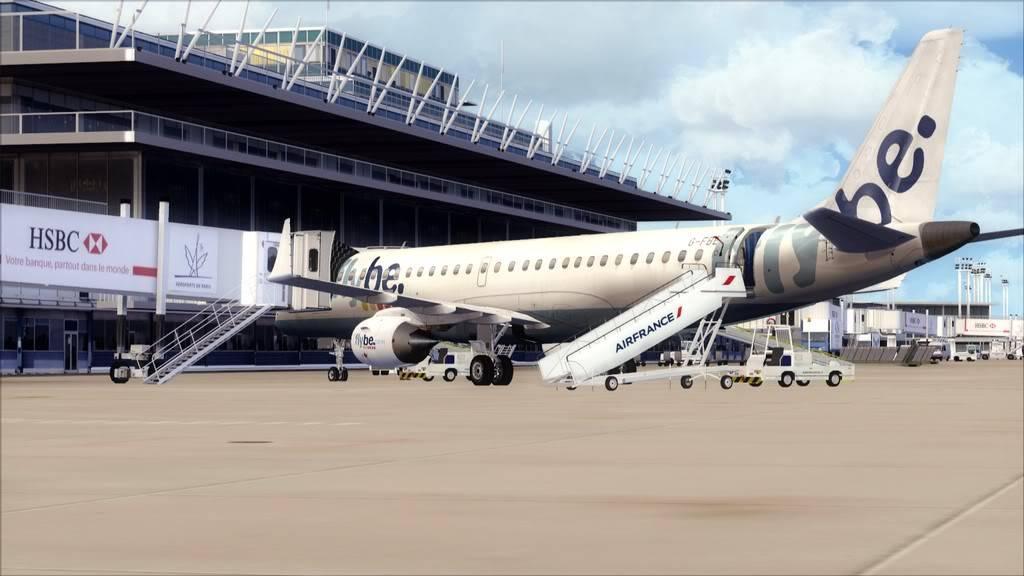 Flybe E195 -> Paris/LFPO - Cardiff/EGFF LFPO-EGFF