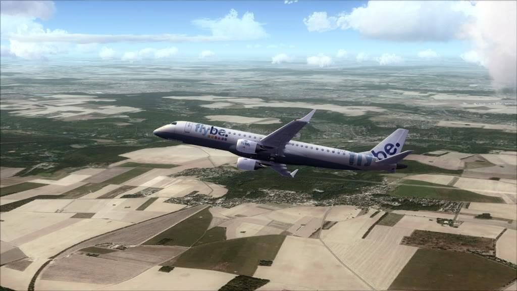 Flybe E195 -> Paris/LFPO - Cardiff/EGFF LFPO-EGFF10