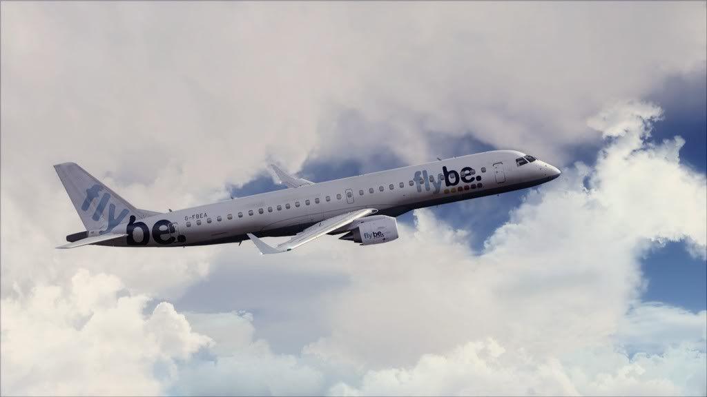 Flybe E195 -> Paris/LFPO - Cardiff/EGFF LFPO-EGFF11