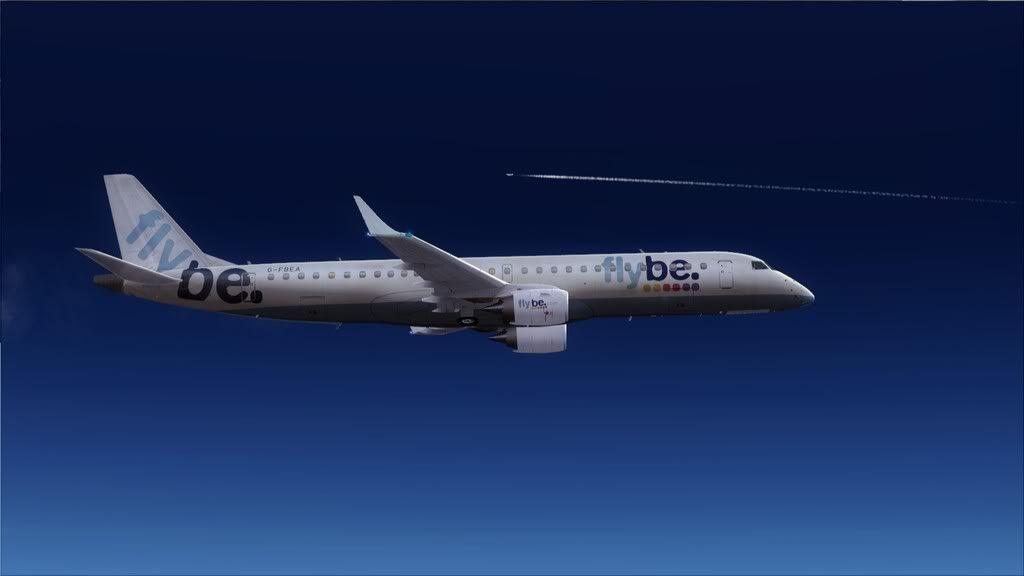 Flybe E195 -> Paris/LFPO - Cardiff/EGFF LFPO-EGFF12