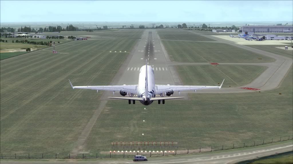 Flybe E195 -> Paris/LFPO - Cardiff/EGFF LFPO-EGFF17