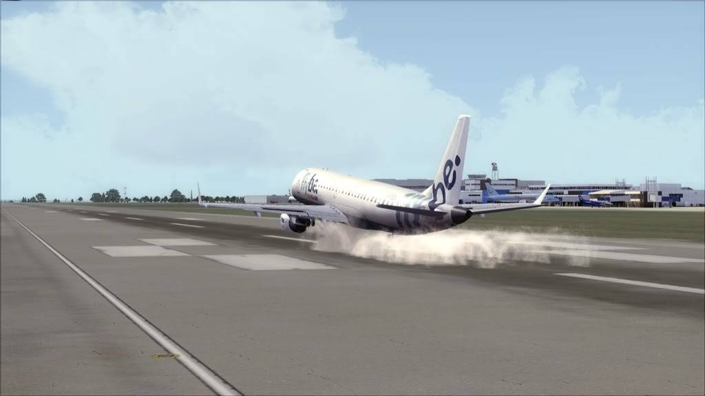 Flybe E195 -> Paris/LFPO - Cardiff/EGFF LFPO-EGFF18