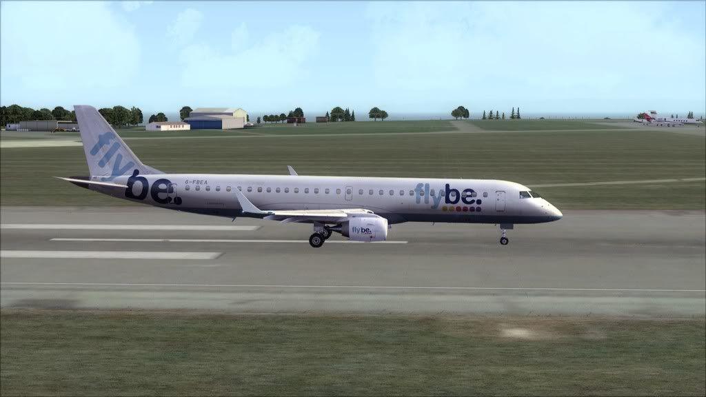 Flybe E195 -> Paris/LFPO - Cardiff/EGFF LFPO-EGFF19