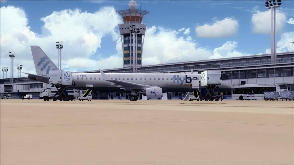 Flybe E195 -> Paris/LFPO - Cardiff/EGFF LFPO-EGFF2