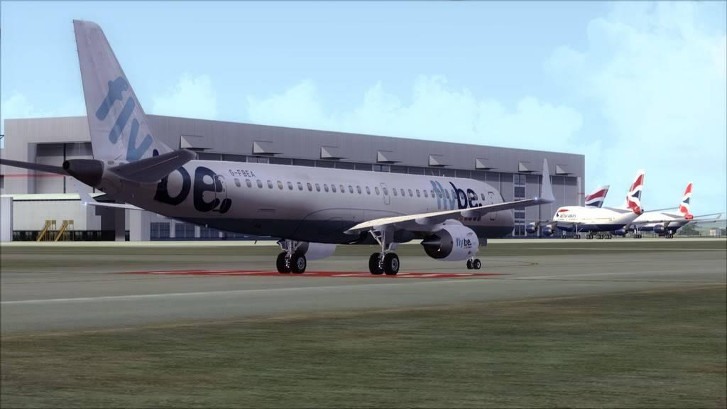 Flybe E195 -> Paris/LFPO - Cardiff/EGFF LFPO-EGFF20