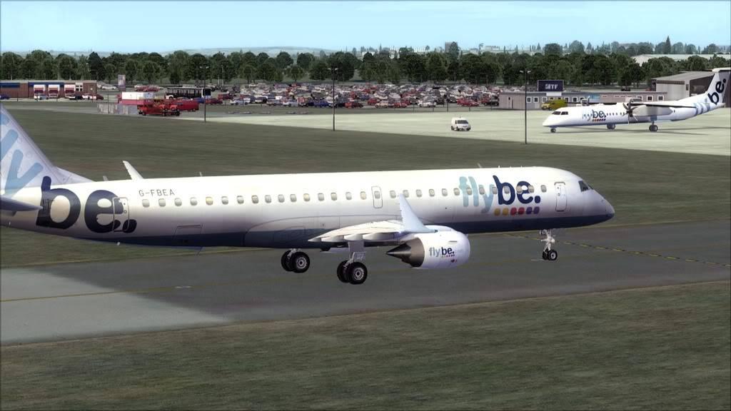 Flybe E195 -> Paris/LFPO - Cardiff/EGFF LFPO-EGFF21