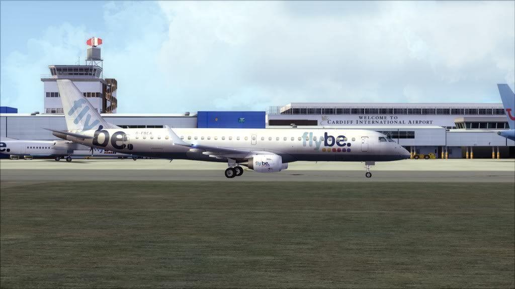 Flybe E195 -> Paris/LFPO - Cardiff/EGFF LFPO-EGFF22