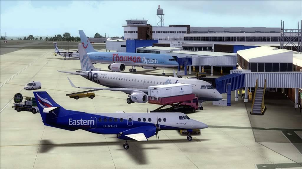 Flybe E195 -> Paris/LFPO - Cardiff/EGFF LFPO-EGFF24
