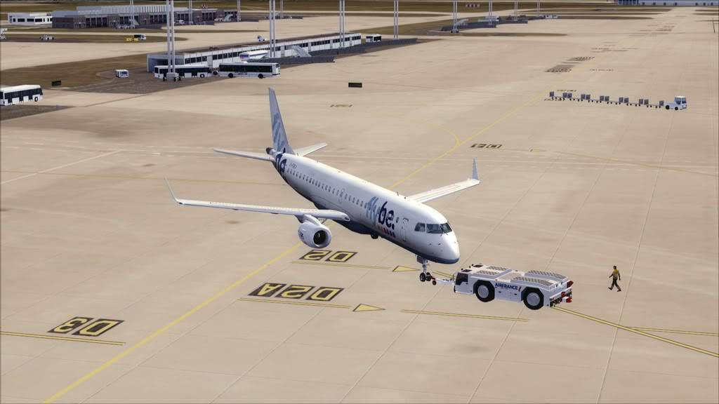 Flybe E195 -> Paris/LFPO - Cardiff/EGFF LFPO-EGFF3
