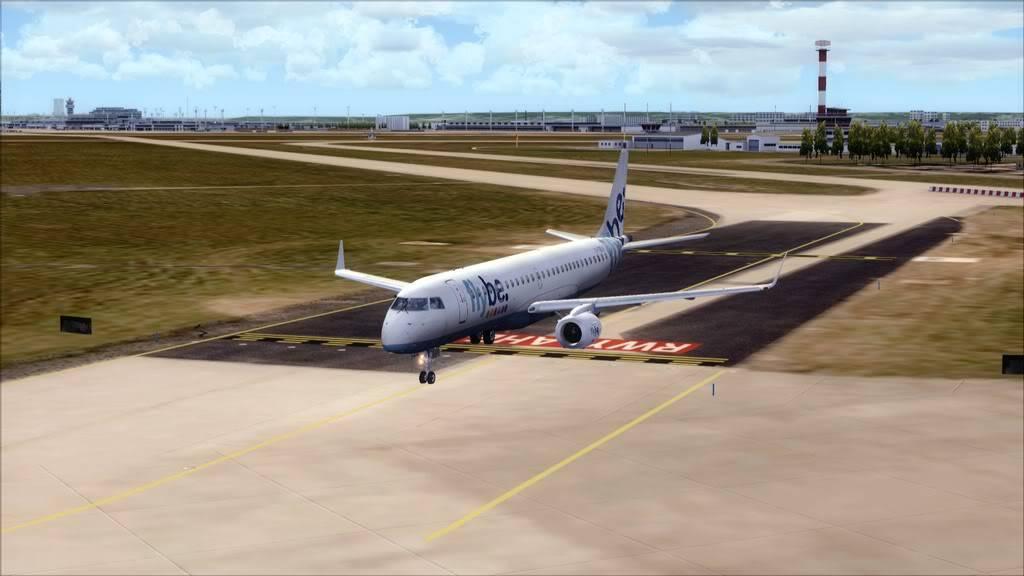 Flybe E195 -> Paris/LFPO - Cardiff/EGFF LFPO-EGFF5