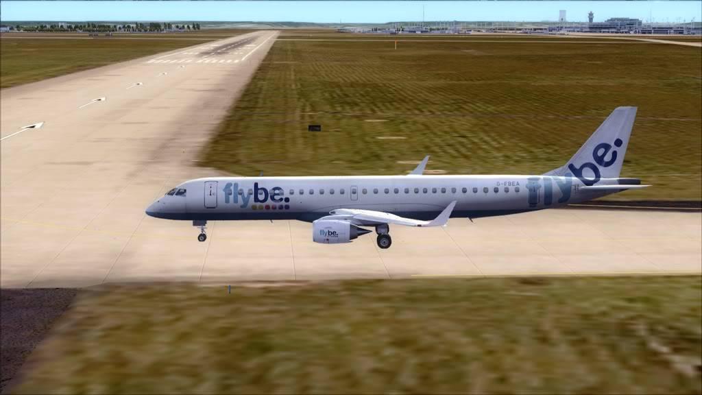 Flybe E195 -> Paris/LFPO - Cardiff/EGFF LFPO-EGFF6